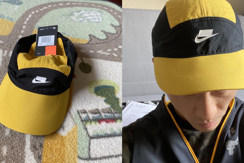 #初秋#骚气又透气!Nike Tailwind AW84运动帽
