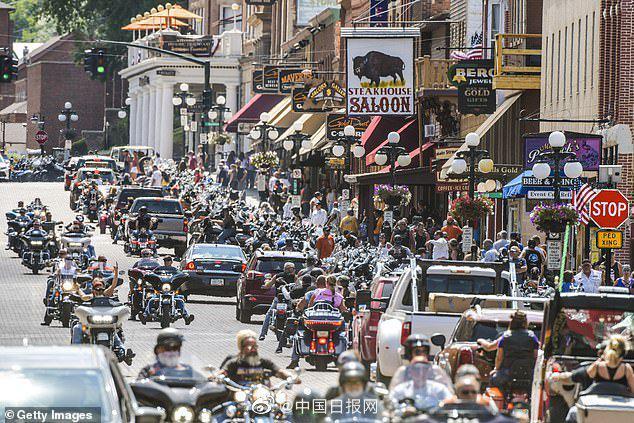美国一场摩托车拉力赛致26万人确诊 治疗费122亿美元