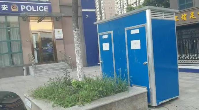 家里人多上厕所不方便,安徽女子深夜盗走移动厕所