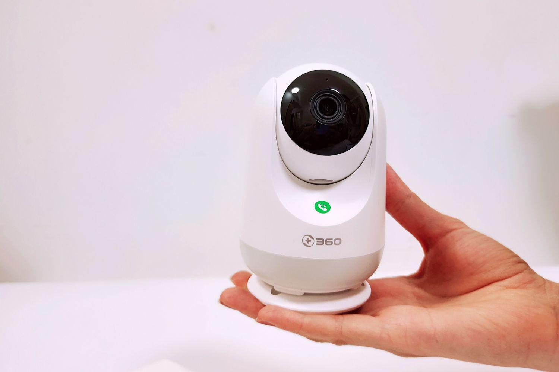 用科技守护家人,360摄像机云台5P触联2K版!
