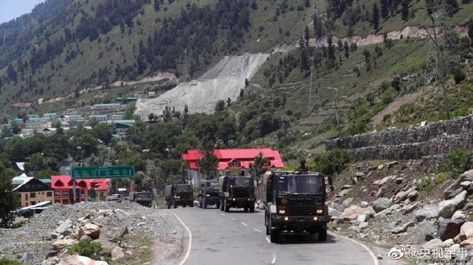 印媒:印军为边境增派士兵配备冬装