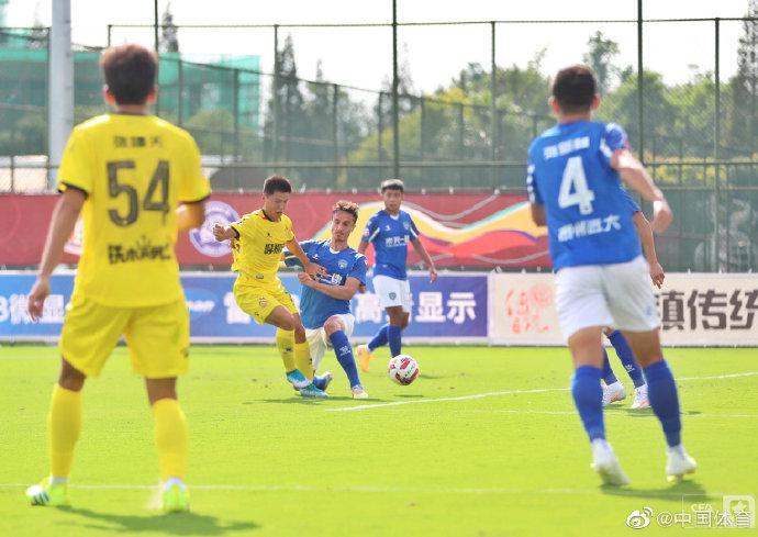 中甲综述-高迪谭龙破门亚泰2-0新疆 呼市1-1远大