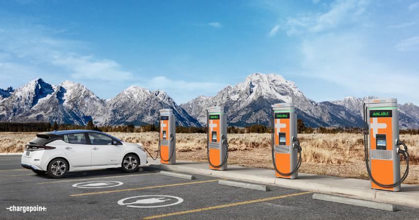 电动车充电网络公司ChargePoint拟借壳上市