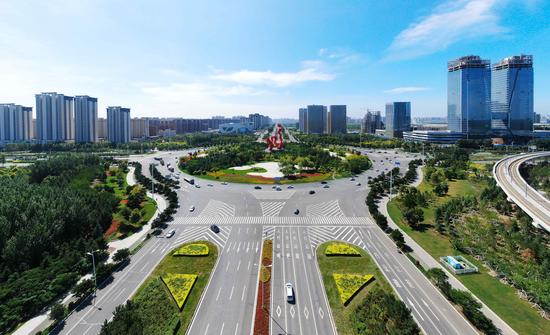"""长春北湖科技开发区:立体交通路网畅通区域发展""""血脉"""""""