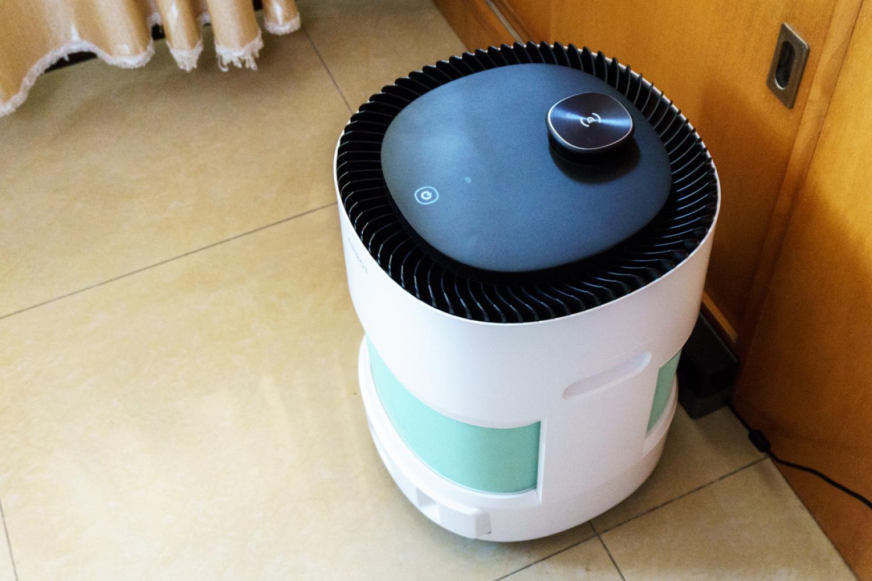 自行移动空气净化器:科沃斯Ava沁宝