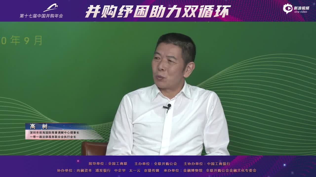 中国并购年会分论坛八:商会调解在激发市场主体活力中的作用