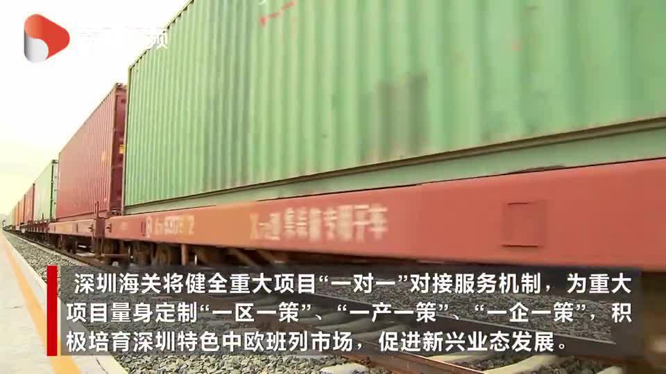 """[落实""""六稳""""""""六保""""一线见闻]深圳前8个月进出口总值同比增长2% 大湾区内开展""""组合港""""试点"""