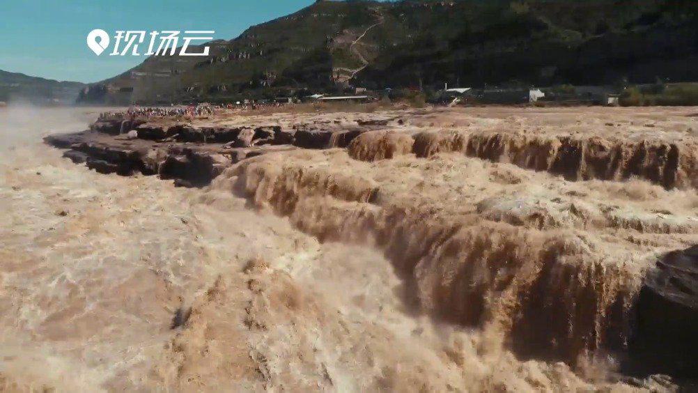 十一黄金周将至 黄河壶口瀑布迎来最佳观赏期