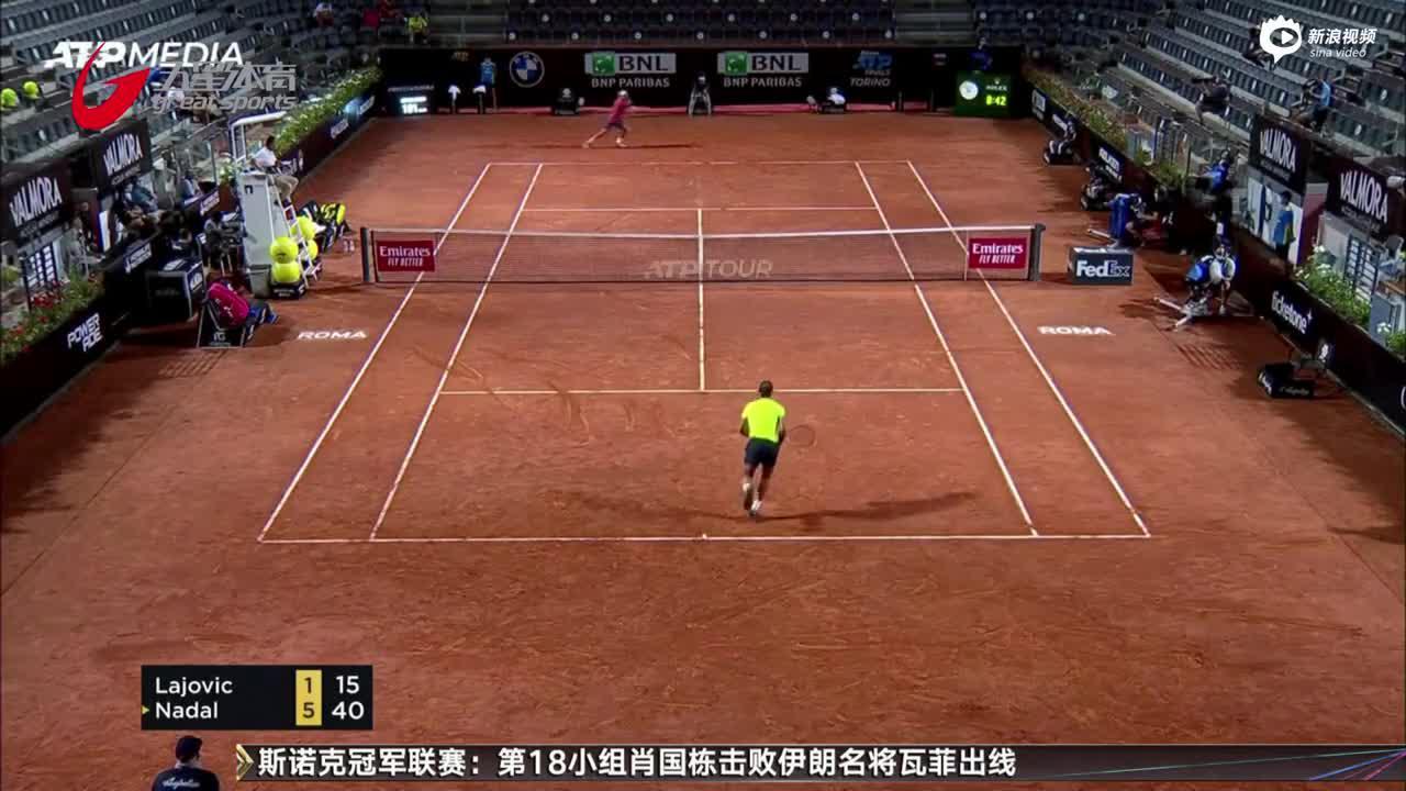 ATP马大师赛:纳达尔晋级