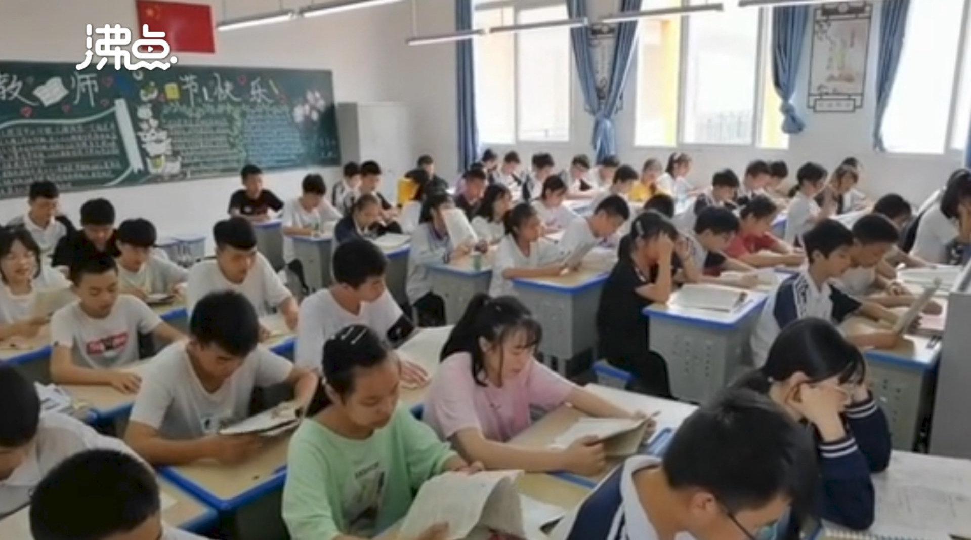 四川一中学班上62名学生全是班干部 老师:让每个人都参与班级管理