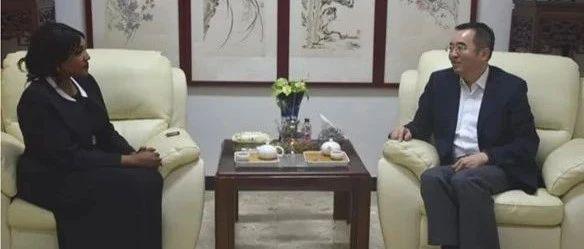 【驻外掠影】苏丹知名主播表示愿为加强中苏两国传媒合作贡献自己的力量