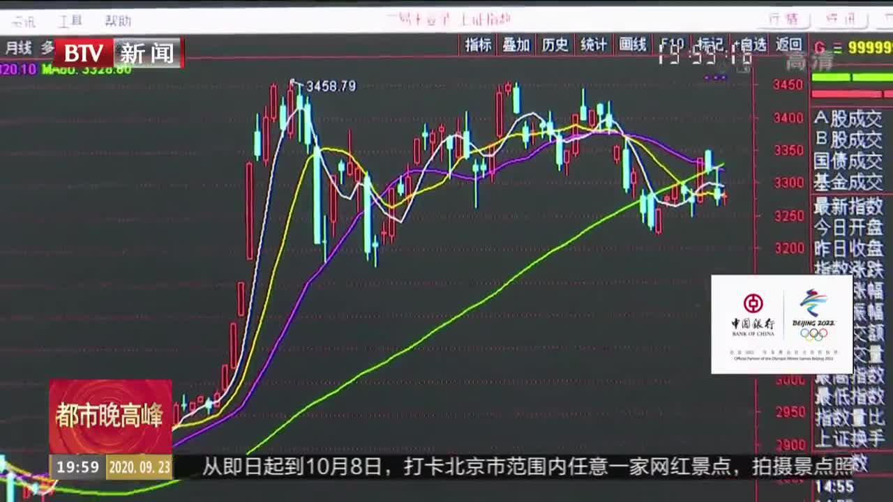 9月23日股市:三大指数午后冲高 创业板指涨1.74%
