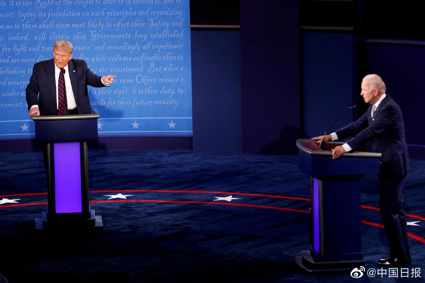 美总统辩论主办方称将采取措施维护辩论秩序