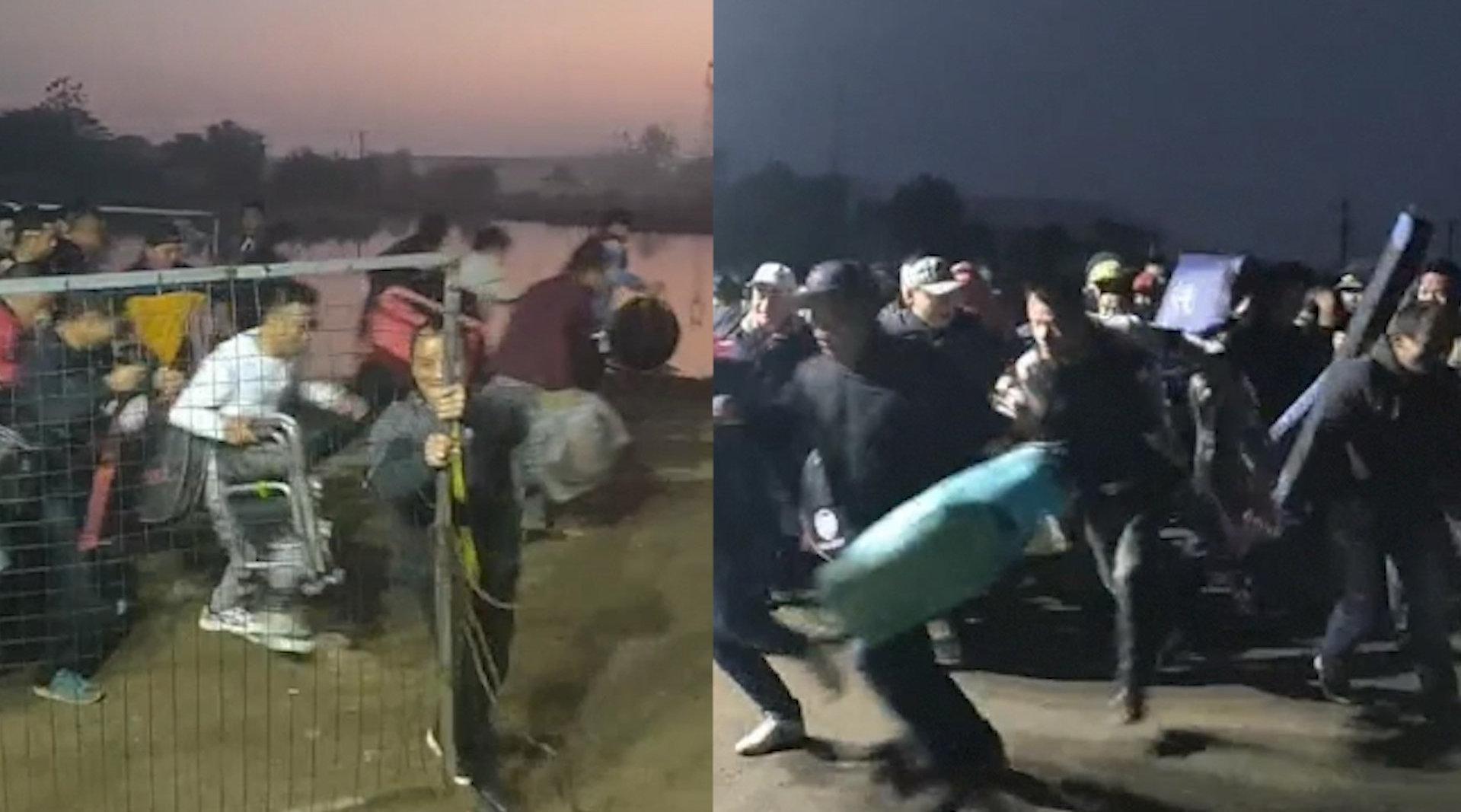 武汉渔场凌晨上百人排队抢钓位