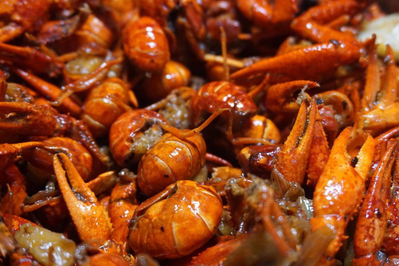 火锅底料做的虾尾,一定会很好吃!