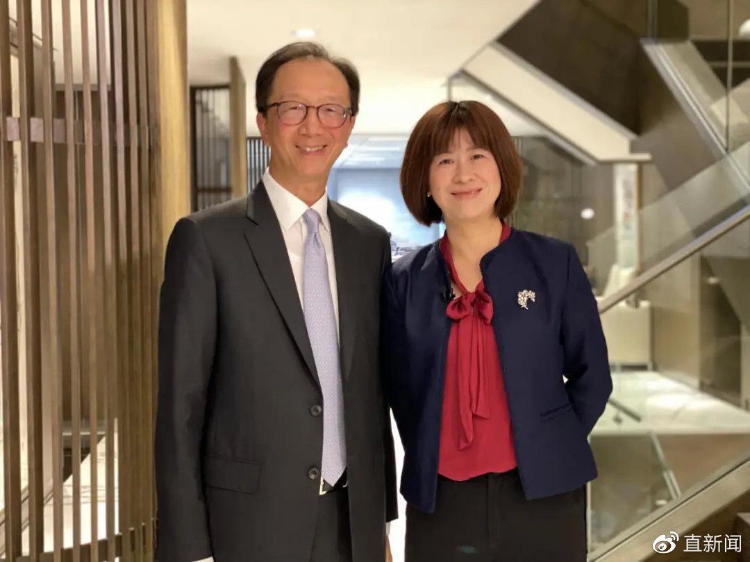 梁锦松:我不觉得深圳上来了香港就一定要下去图片