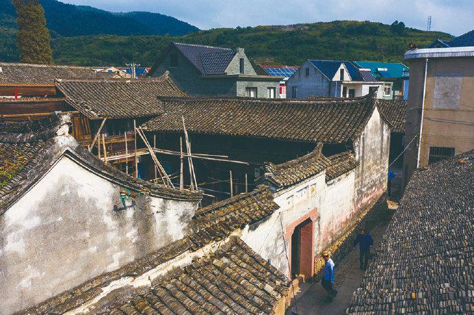 象山复原修缮古建筑四合院大众房 延续古村落生命