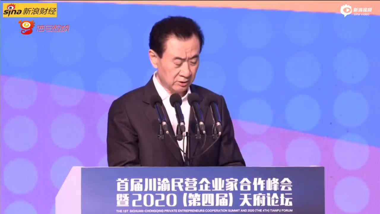 王健林:民企少谈高大上的管理理念,保证活下去、活得久才是王道
