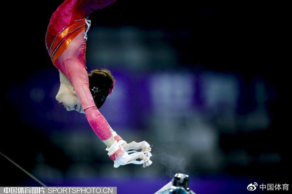 全国体操冠军赛全能决赛 杨皓楠称王唐茜靖封后