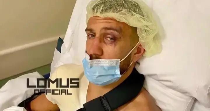洛马琴科展示恐怖的肩膀手术疤痕,拳击艺术大师遭遇邹市明式悲剧