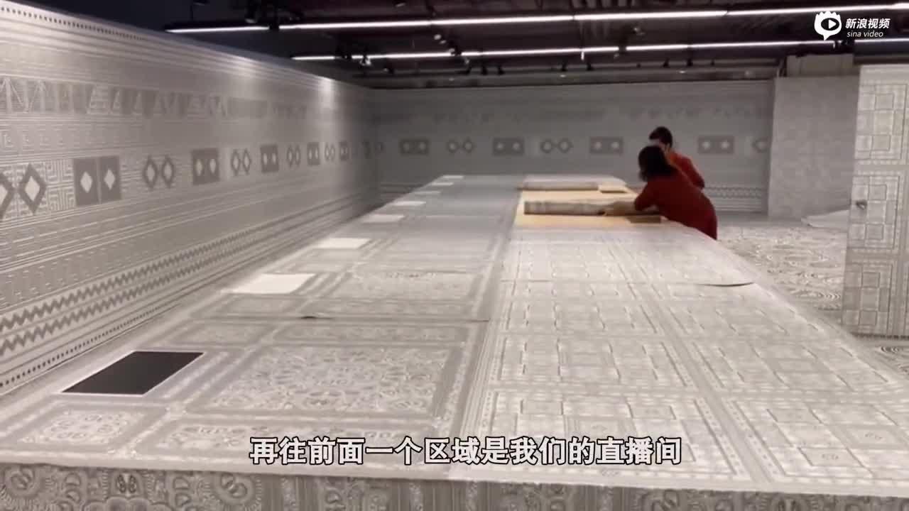 """进博会""""多彩贵州·爽爽贵阳""""馆搭建完成 今日开始布展"""