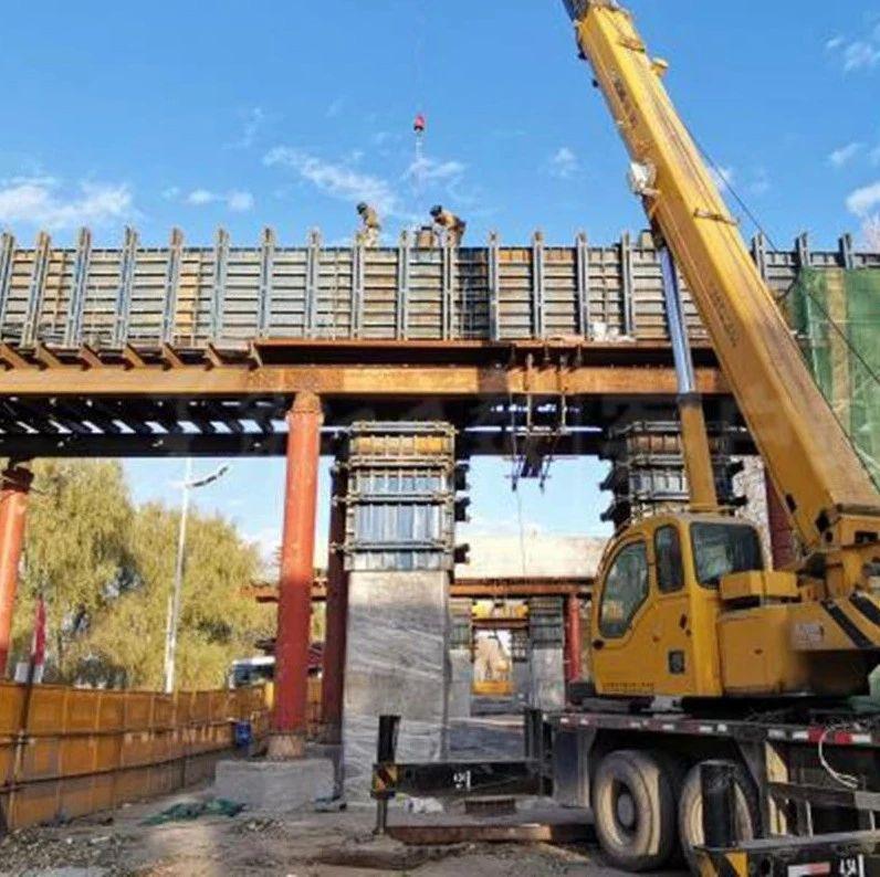 黑龙江省百大项目——哈机场第二通道一期工程建设火热推进