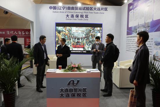 大连自贸片区借国际货代年会展示大连东北亚国际物流中心建设