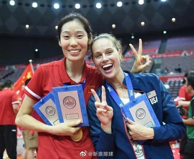 美国女排主攻:我很喜欢中国 想给朱婷一个拥抱