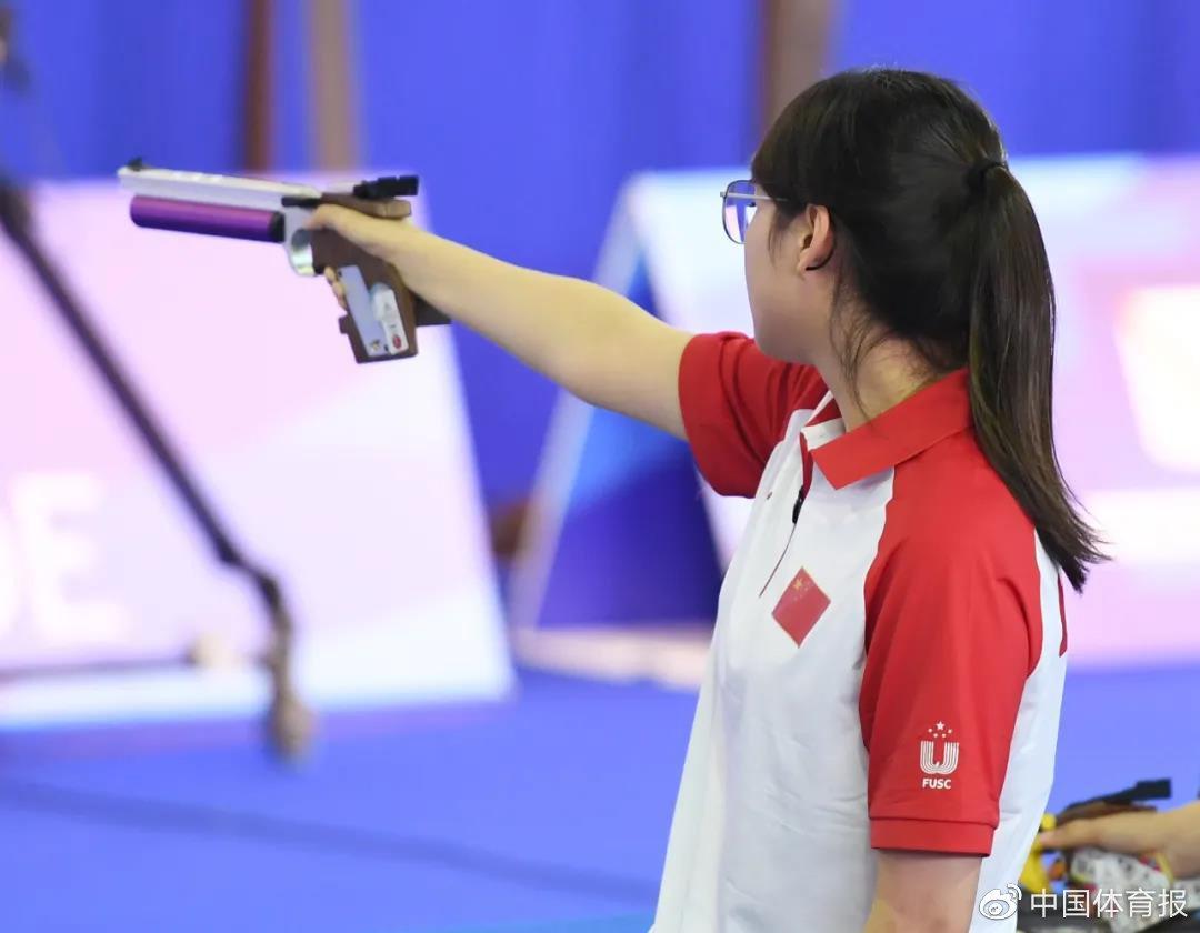 国家手枪射击队奥运队伍选拔赛 一超一平世界纪录