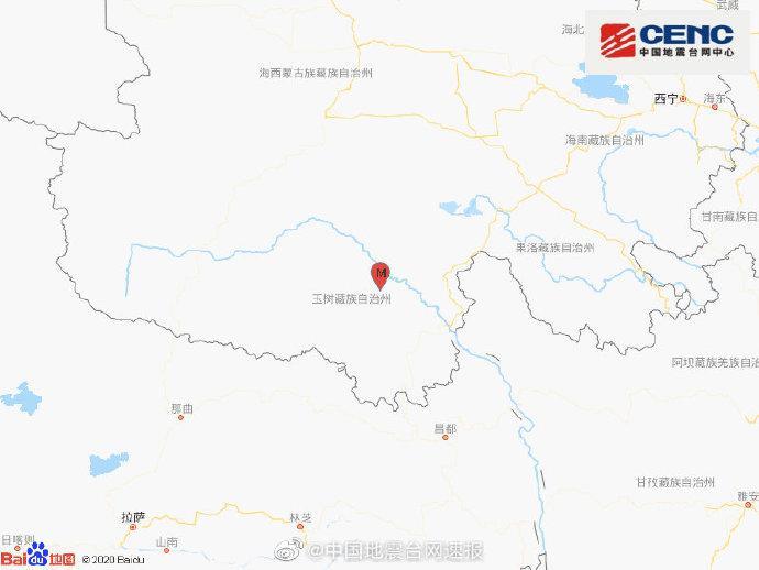 青海玉树州治多县发生3.3级地震,震源深度9千米图片