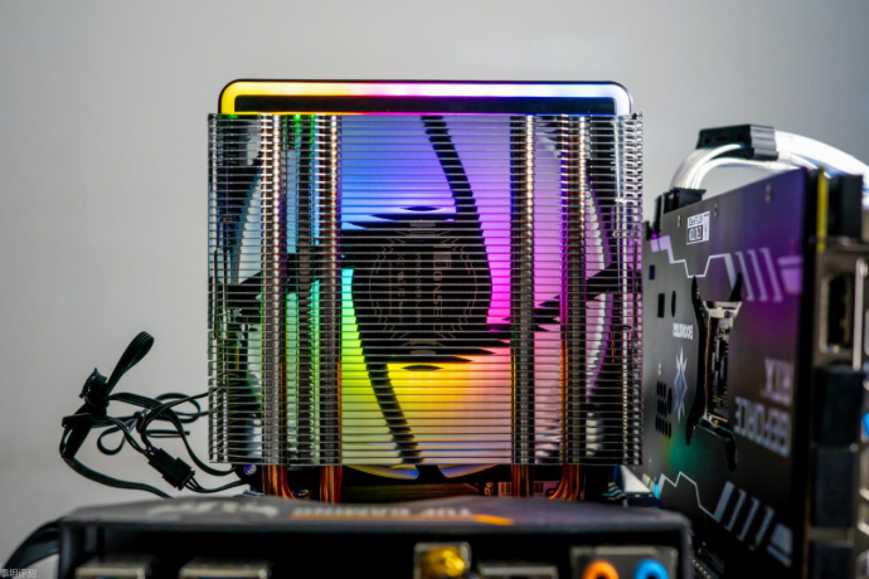 4热管风冷能压173W的3900X?MX400散热器测评