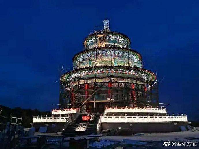 奉化黄贤景区提升工程进入收尾阶段 预计春节重开园