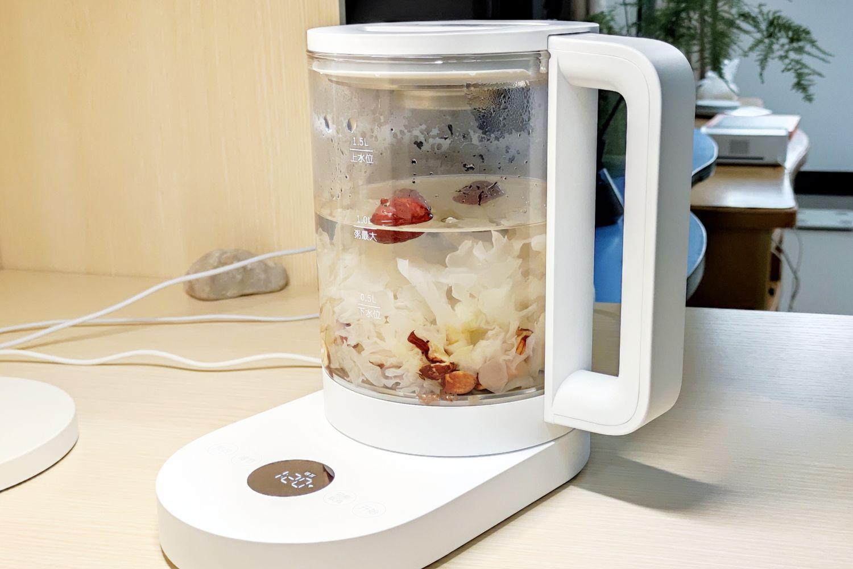 小米新品:米家智能养生壶深度体验 附食谱