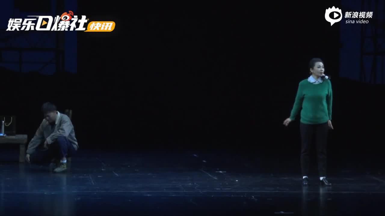 视频:中国煤矿文工团原创音乐剧《花落花开》在京首演