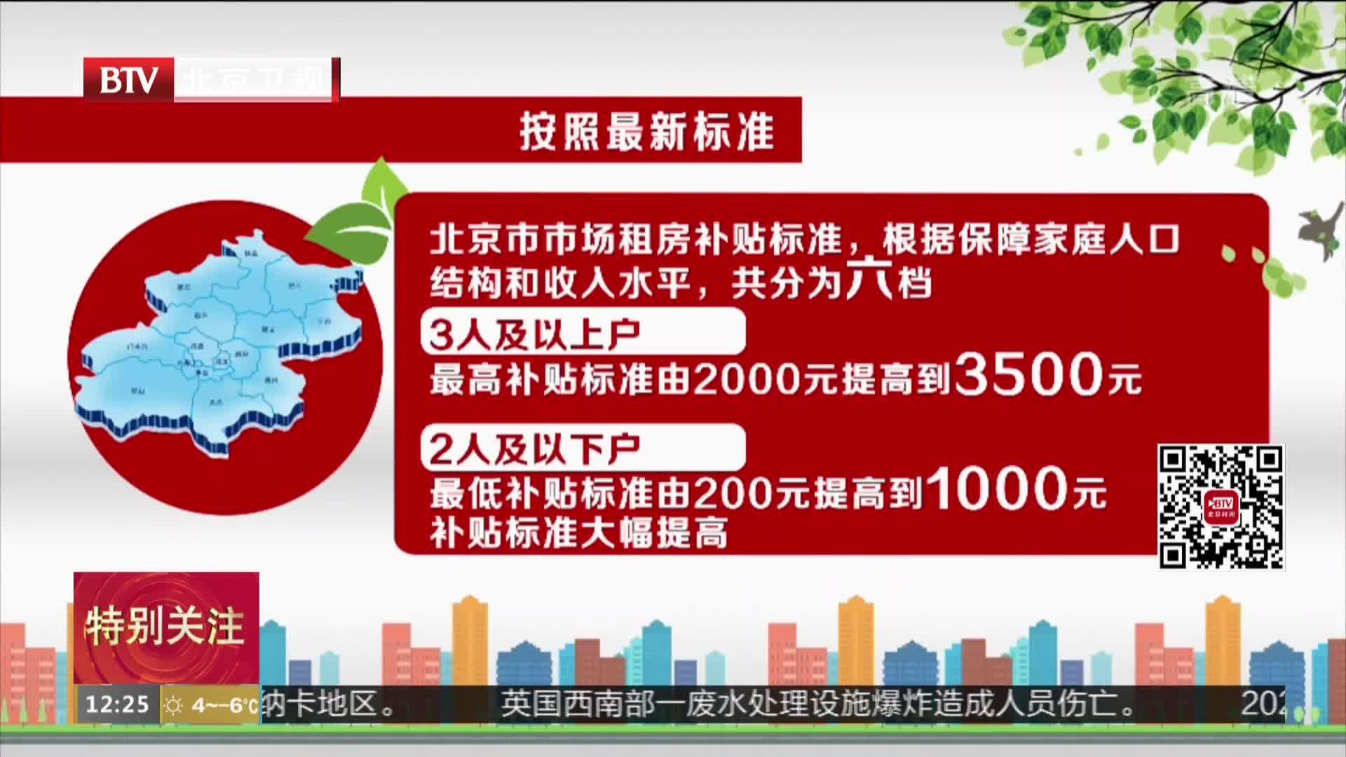 北京市住建委:市场租房补贴新政实施成效显著