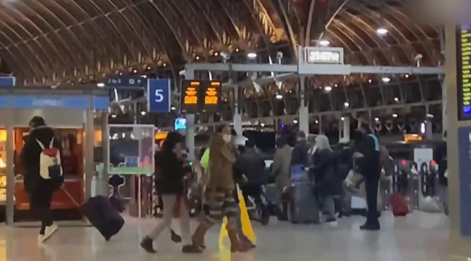 伦敦封城  近30万人连夜逃离