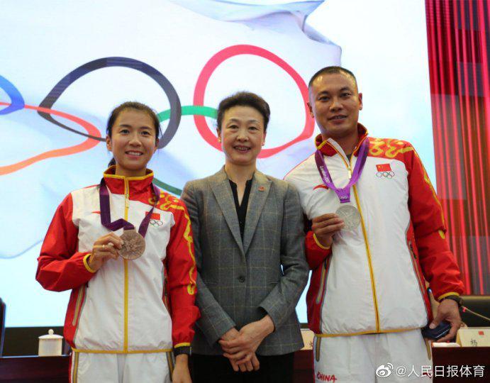 司天峰和刘虹补发伦敦奥运奖牌 递补为亚军和季军