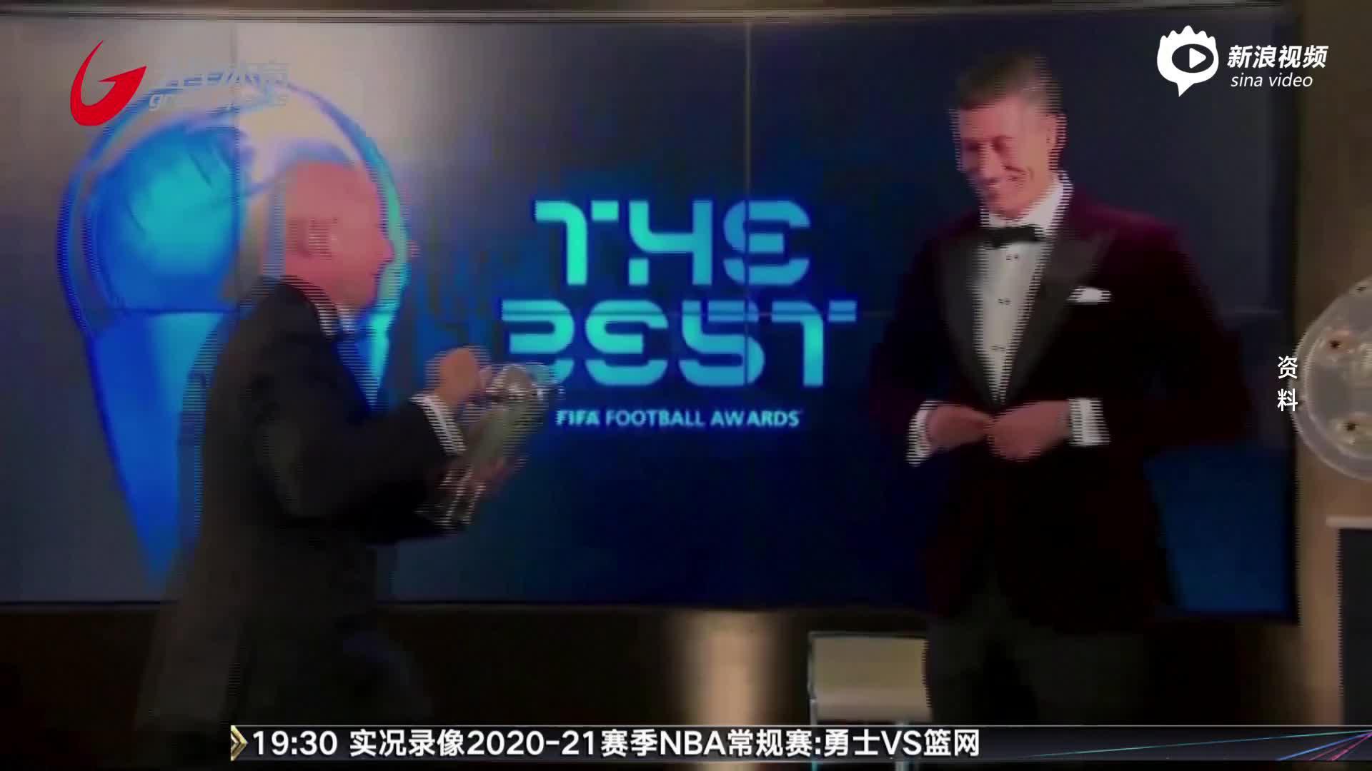 视频-环球足球奖评选今晚揭晓 三大球星再争殊荣