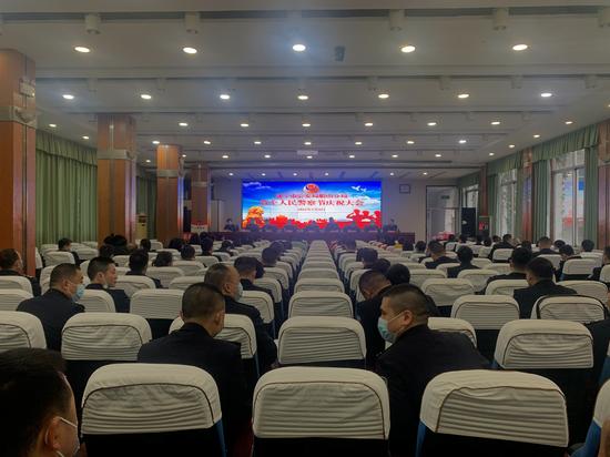 船山公安隆重庆祝首个中国人民警察节