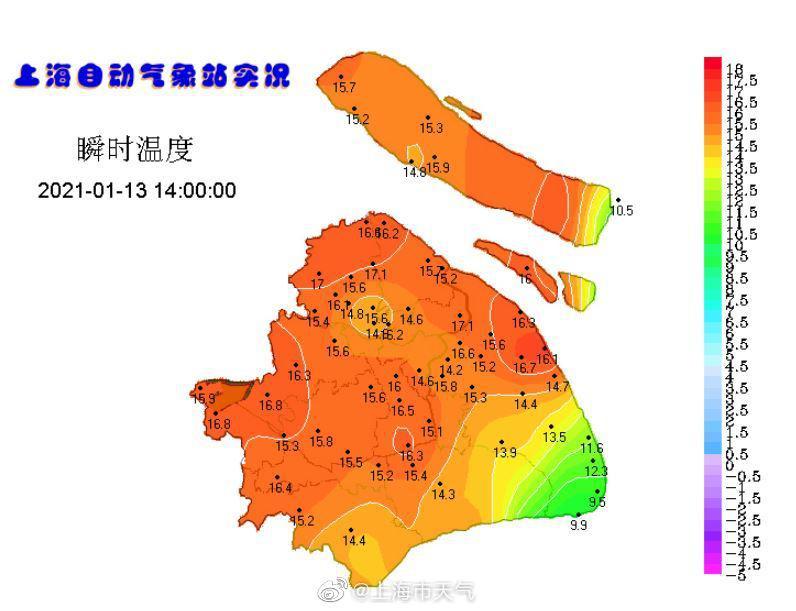 目前,上海强势回暖,总体气温都在15、16℃的样子,相对湿度较低,空气干燥