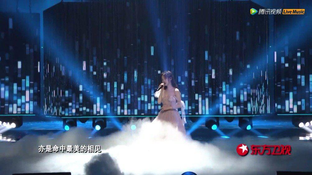 【20190325】东方风云榜  鞠婧祎《叹云兮》 cut