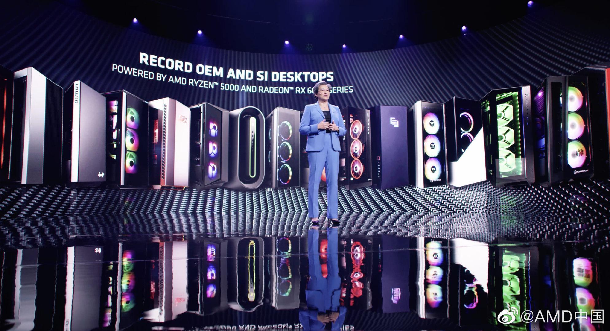 AMD CES 盘点:今年上半年发布首批采用 RDNA2 显卡的笔电,主流台式机显卡也将推出