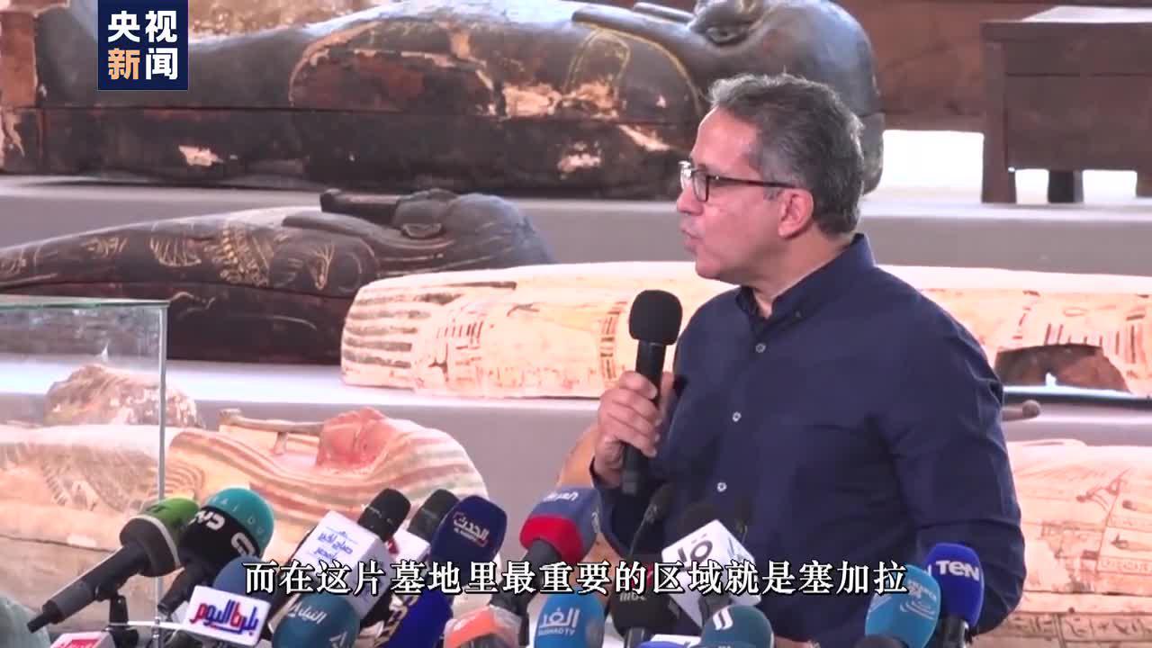总台记者探访塞加拉 走近古埃及文明核心遗址