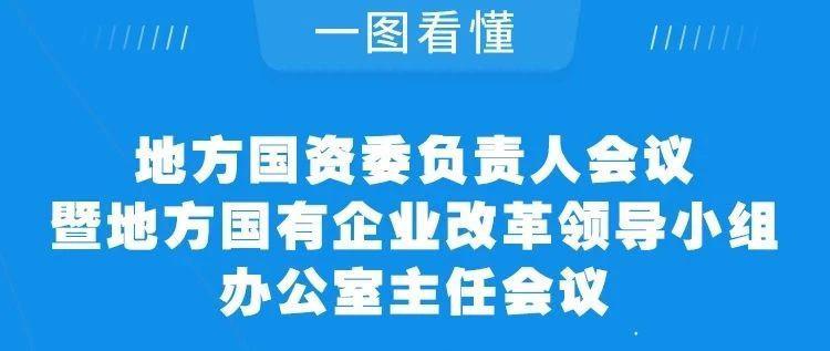 一图看懂地方国资委负责人会议暨地方国有企业改革领导小组办公室主任会议