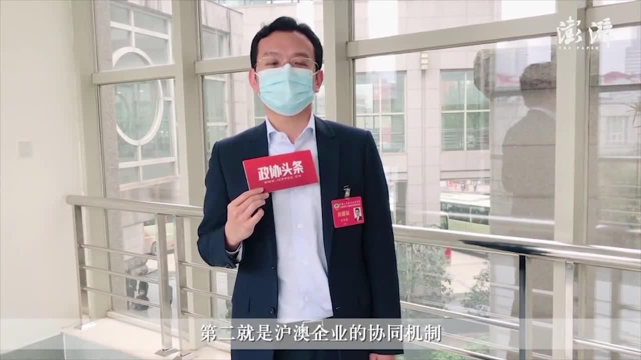 上海两会丨许华芳:从三方面入手,构建沪澳企业合作新路径