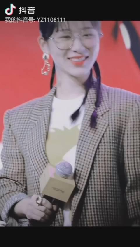 治愈系笑容杨紫
