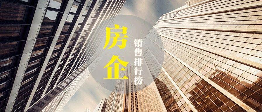 2020年度各城市房企销售榜六(徐州、柳州、唐山、邢台、邯郸、廊坊、承德、衡水、秦皇岛、保定)