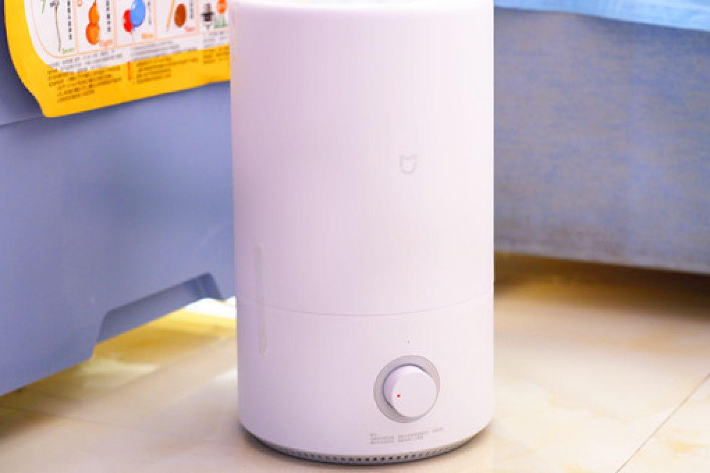 对抗干燥,小米加湿器开箱测评