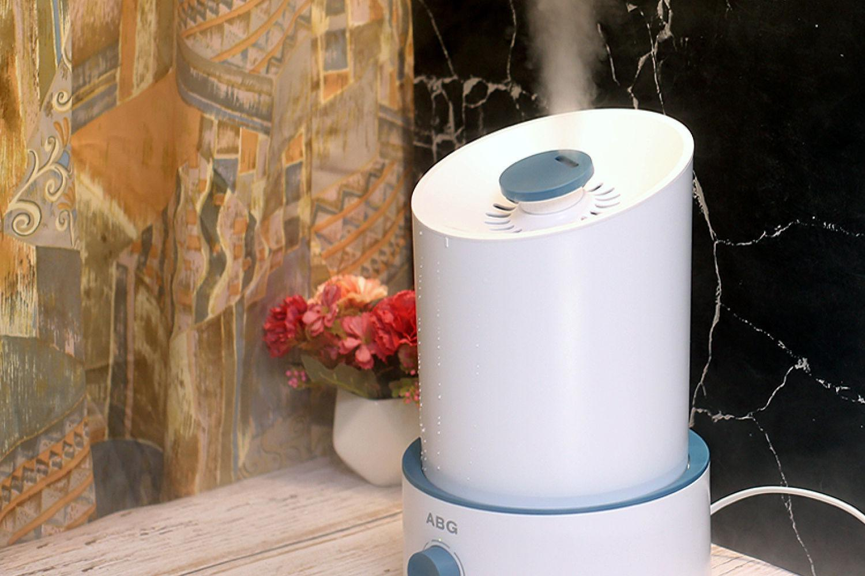 静音设计超大雾量,ABG加湿器让您水水润润