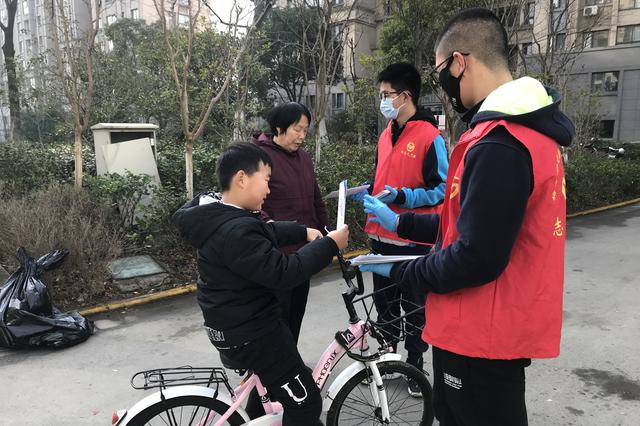 """梅村街道香梅三社区开展""""我爱社区我爱家""""寒假志愿服务系列"""